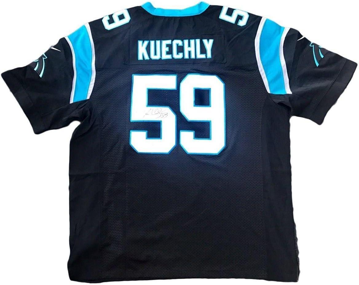 Amazon.com: Luke Kuechly Carolina Panthers Home Signed Jersey JSA ...