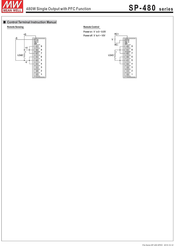 AC to DC Power Supply Single Output 12 Volt 43 Amp 480 Watt