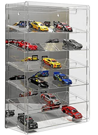 Sora Big Display Case For 1 32 Slot Cars With Mirrored Back Panel
