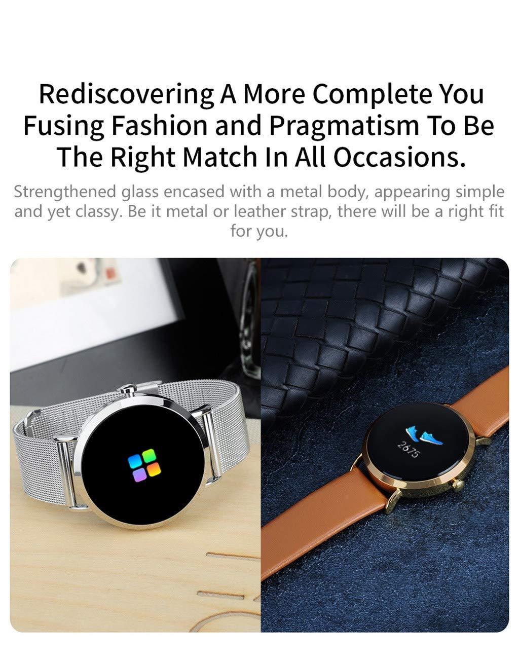Blood Pressure Smart Watch Hot Sale, NDGDA Heart Rate Sleep Monitoring Sport Smart Watch Bracelet Fitness Wristband (D) by NDGDA Smart Watch (Image #2)