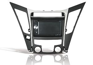 SCOSCHE HY1625B 2011-Up Hyundai Sonata Double DIN or DIN w/Pocket Install Dash Kit