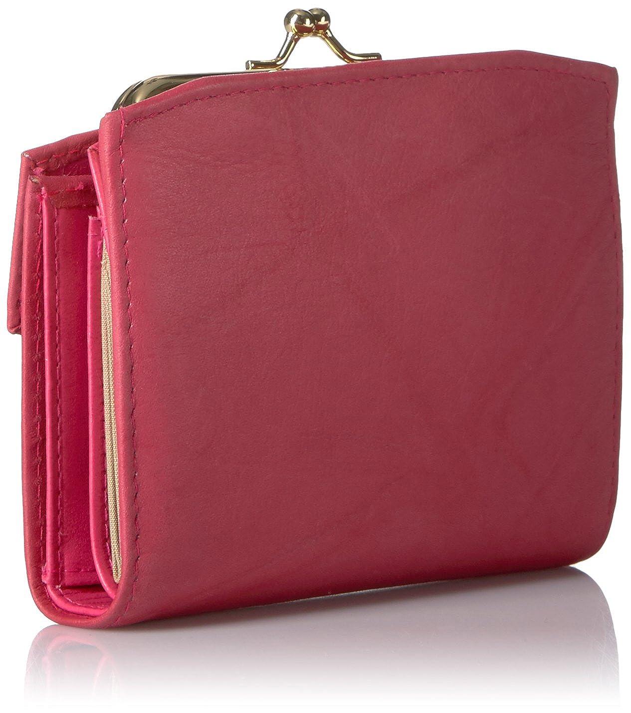 Buxton - Cartera para Hombre Mujer Rosa Coral Talla única: Amazon.es: Equipaje