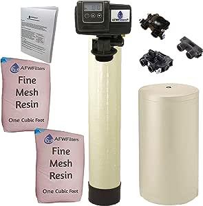 Iron Pro 2 Combination water softener iron filter Fleck 5600SXT digital metered valve 64,000 grain, 64k for whole house