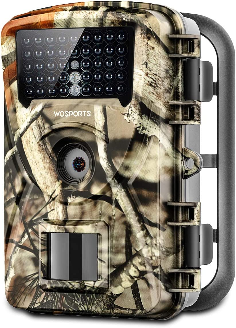 Trail Game Camera, 1080P Waterproof Hunting Scouting Cam for Wildlife Monitoring with Night Vision 2.4 LCD IR LEDs 88W