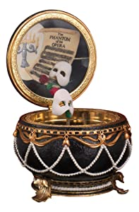 Phantom of the Opera - Phantom Hinged Music Box