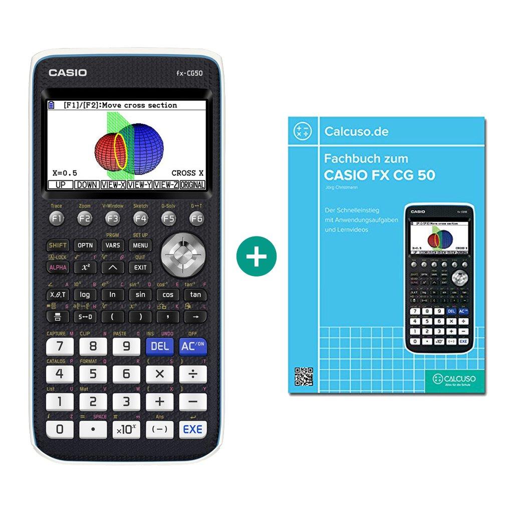 Casio FX CG 50, inclusolibro di riferimento per Casio FX CG 50 (lingua italiana non garantita) Calcuso/Casio