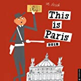 This Is Paris 2018 Calendar