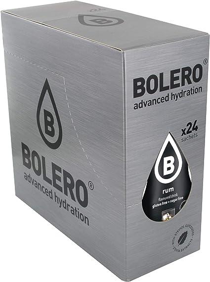 Bolero Bebida Instantánea sin Azúcar, Sabor Ron - Paquete de ...
