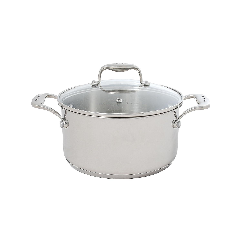 Tuxton Home THCCC2-SS3-B Concentrix omelet-pans 3-Quart Pot Silver