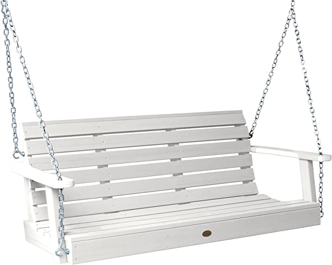 Highwood AD-PORW1-WHE Weatherly Porch Swing – Best For Weather-Resistance
