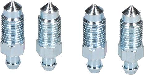 B Blesiya Bremssattel-Entl/üftungsventil-Schraubensatz Bremsentl/üftungsschraube Reparaturbuchse