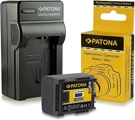 Cargador de batería para canon LEGRIA HF m-306 HF s10