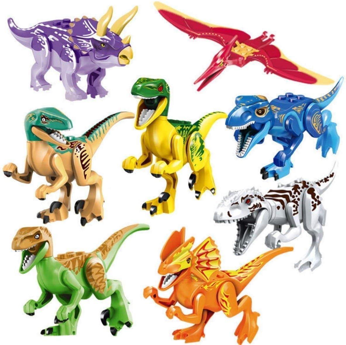 16pc Dinosaur Building Block Toys