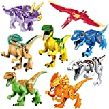 Giant Huge White Dinosaur Figure Building Toy Fit Lego Moc Jurassic White T-rex
