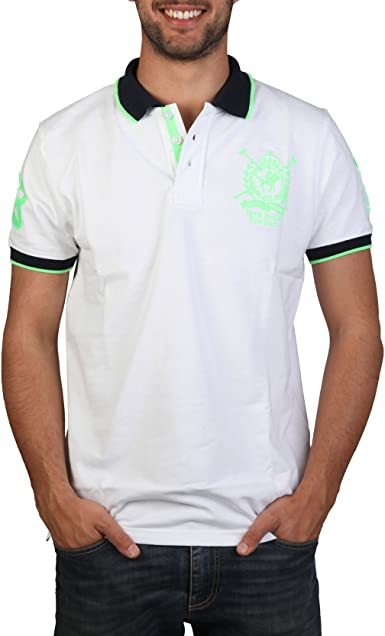 Polo Geographical Norway RP Kentle Mengreen blanquecino - hombre ...