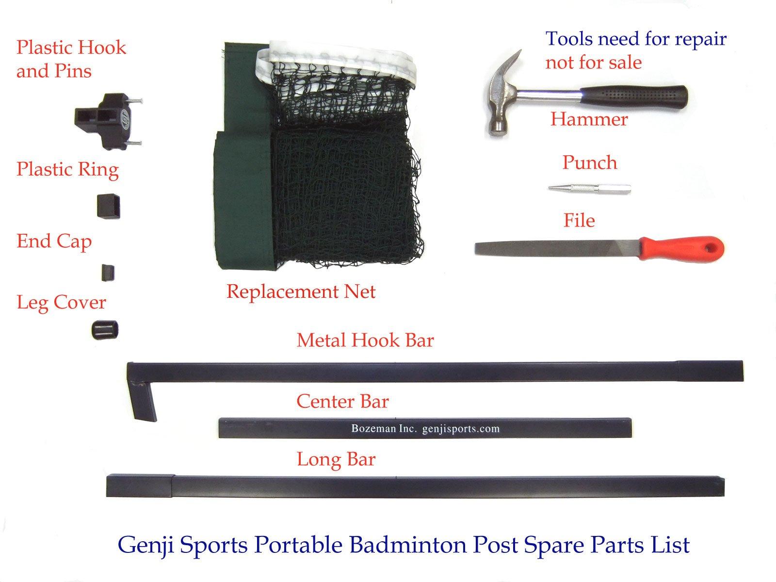 Genji Sports Portable Indoor Badminton posts & Net (3rd Generation) by Genji Sports (Image #7)