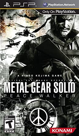 Sony psp system metal gear solid: peace walker entertainment pack.