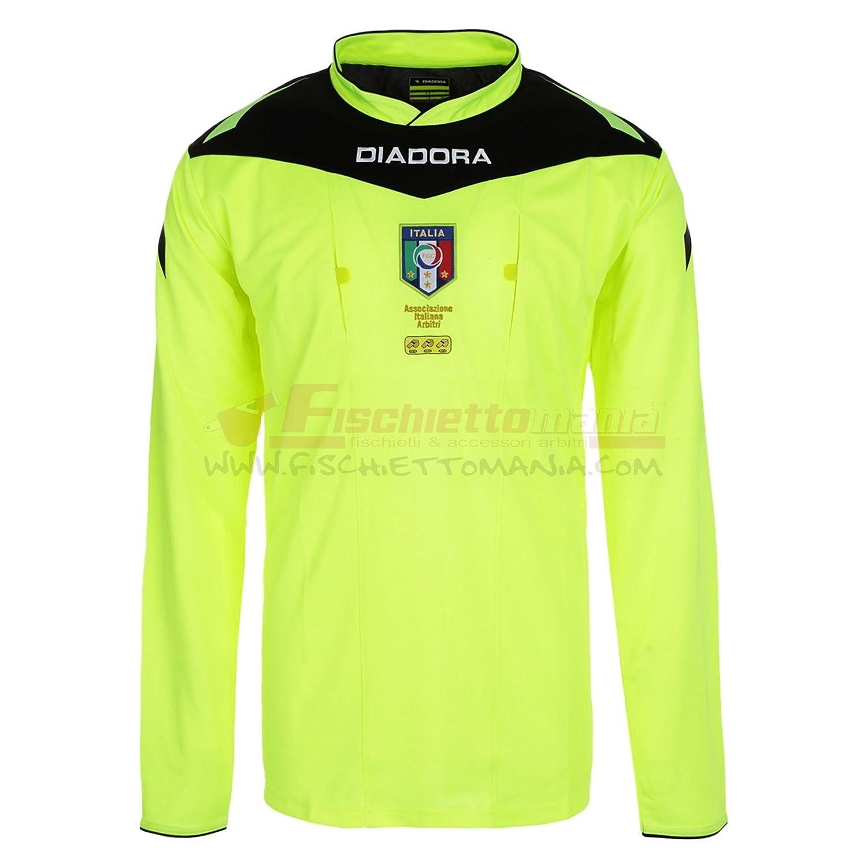 diadora t shirt bambino italia