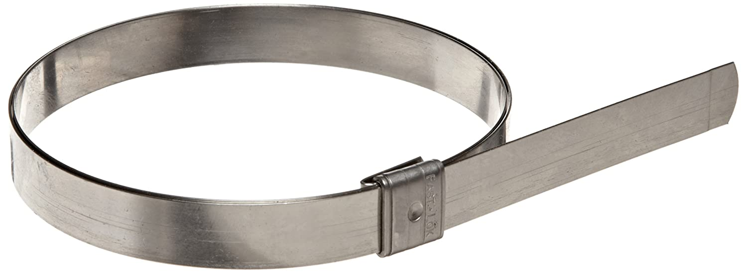 1-3//8 ID Dixon KS311 Stainless Steel Universal Preformed Band Clamp Pack of 100 3//8 Band Width