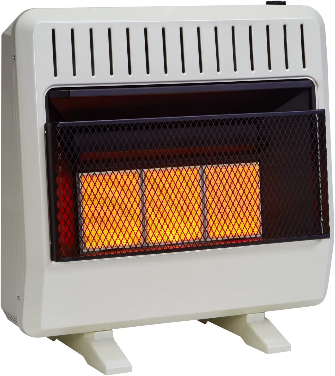 Avenger FDT3IR Dual Fuel Ventless Infrared Heater, 30,000 BTU