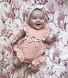 YOUNGER TREE Toddler Baby Girl Ruffled Collar
