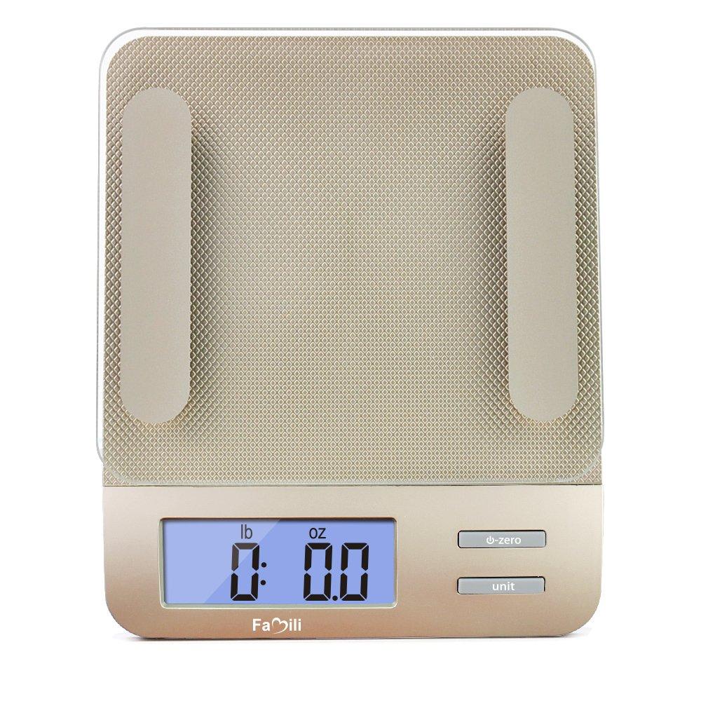 Amazon.com: Famili FM207 Accurate Gram Scale Digital Food Scale with ...