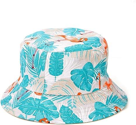 ZSGCHAT Sombrero de Cubo Estampado | Gorras y Sombreros Protección ...