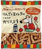 創健社 メイシーリンゴとミルクのやわらかかりんとう 50g ×6個