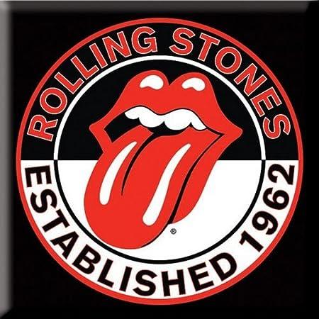 Rolling Stones The Metal magnético – Established 1962 – Tongue Logo: Amazon.es: Juguetes y juegos