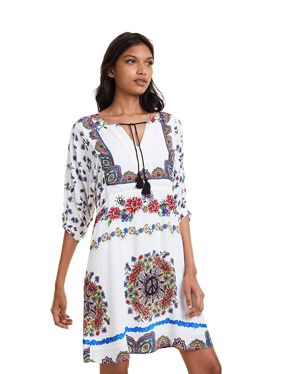 Desigual Dress Linette Vestito Donna