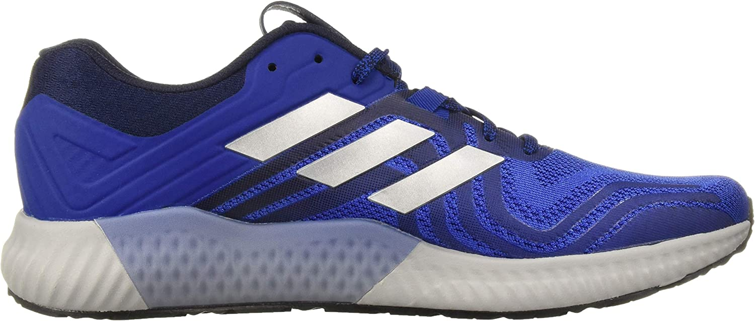 adidas Originals Men's Aerobounce St 2 Running Shoe Hi-res Blue/Silver Metallic/Collegiate Royal