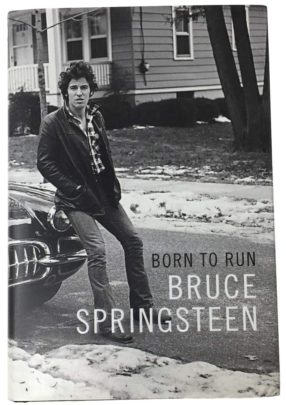 Bruce Springsteen Autographed Signed Born To Run Hardcover Book PSA/DNA Authentic