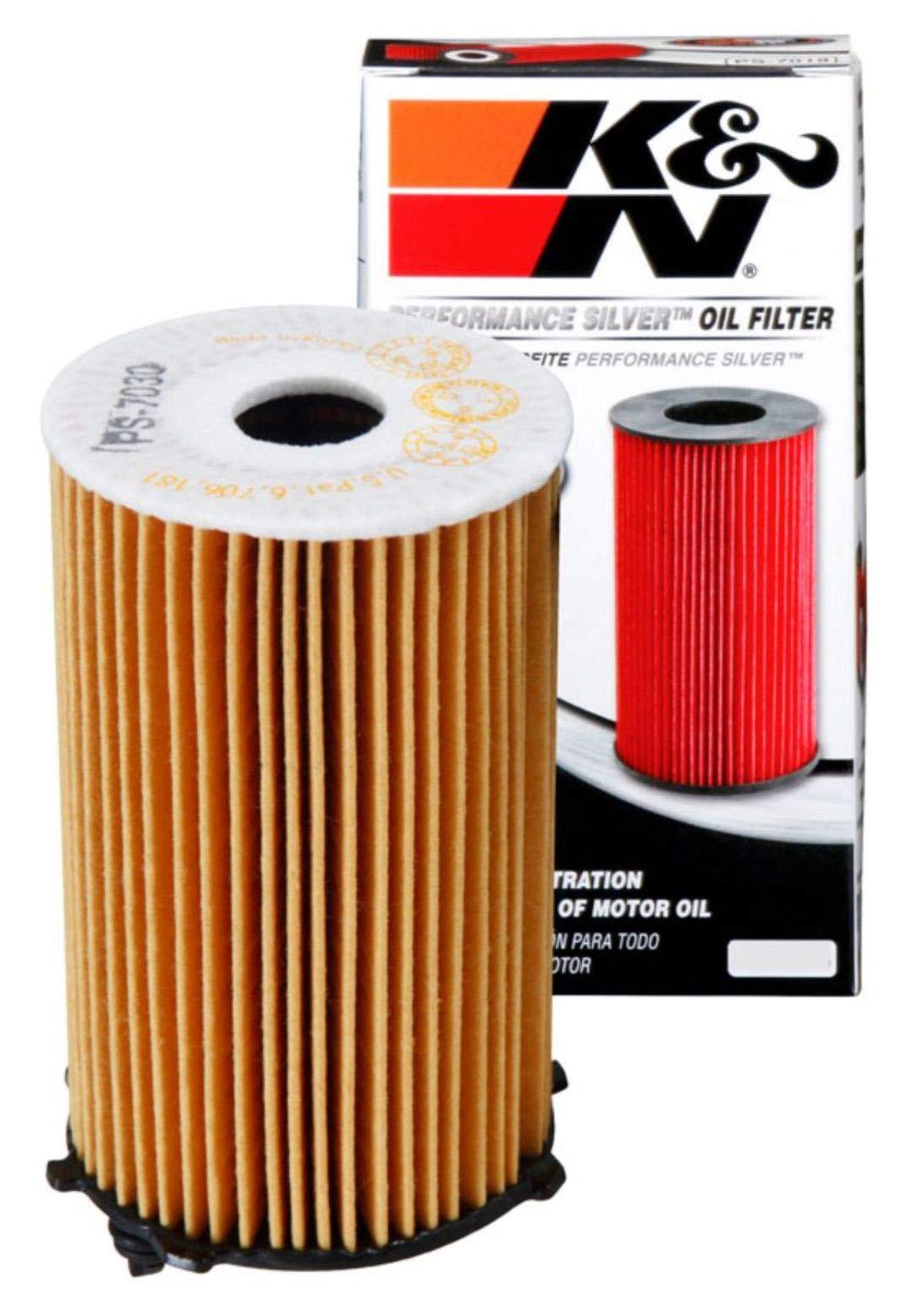 K&N Premium Oil Filter: Designed to Protect your Engine: Fits Select 2010-2019 KIA/HYUNDAI (Sedona, Sorento, Cadenza, K7, Azera, Santa Fe, XL), PS-7030, Multi
