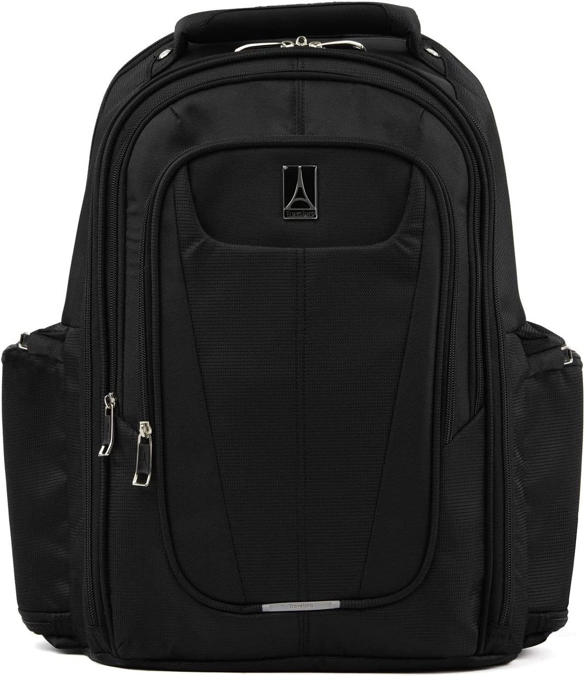 Travelpro Maxlite 5-Lightweight Underseat Laptop Backpack, Black, 17.5-Inch