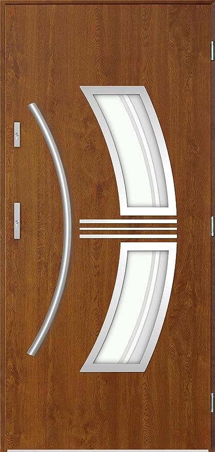 Sirius - External Door with Window/Contemporary Exterior Front Doors on