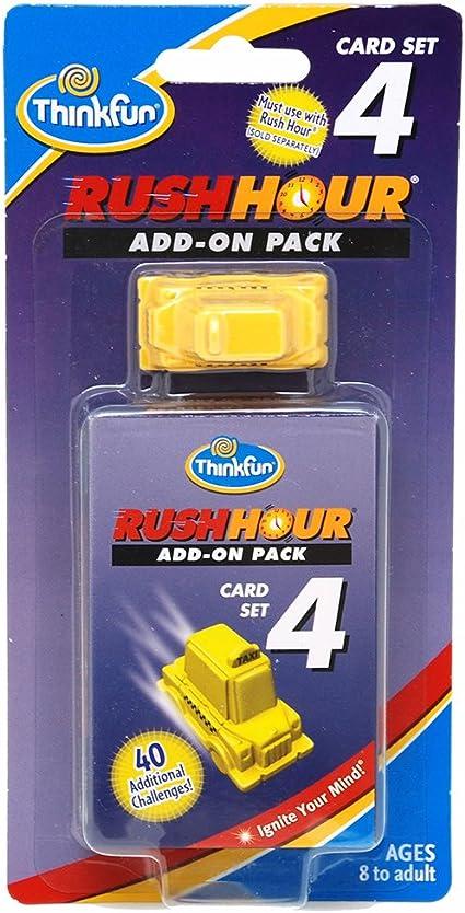 ThinkFun - Rush Hour 4, juego de mesa (TF5030): Amazon.es: Juguetes y juegos