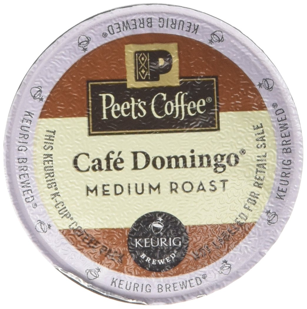 Peet's Coffee Cafe Domingo Single Cup Capsule (96 Count)
