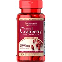 Puritans Pride One A Day Cranberry Capsules, 120 Count