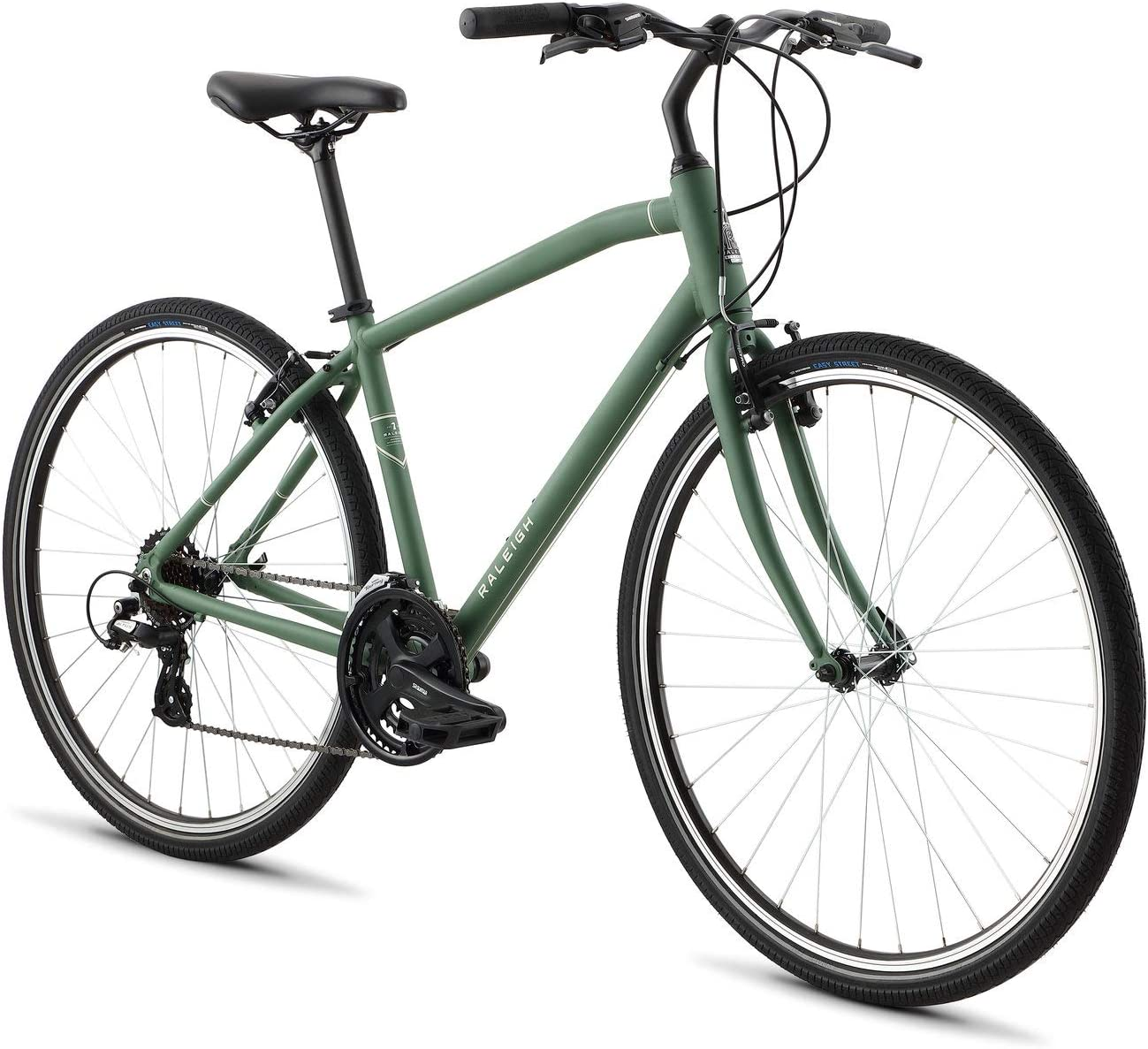 罗利自行车绕行混合动力自行车