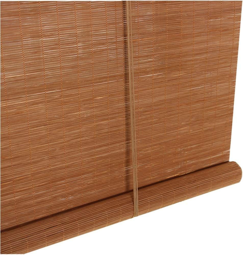 Persiana de bambú Persiana Enrollable Carbonizada Persiana Enrollable, Exterior Exterior 85% Blackout para Cubierta Patio Trasero Gazebo Pérgola Balcón Patio Porche Carpor, Tamaño Personalizado: Amazon.es: Hogar