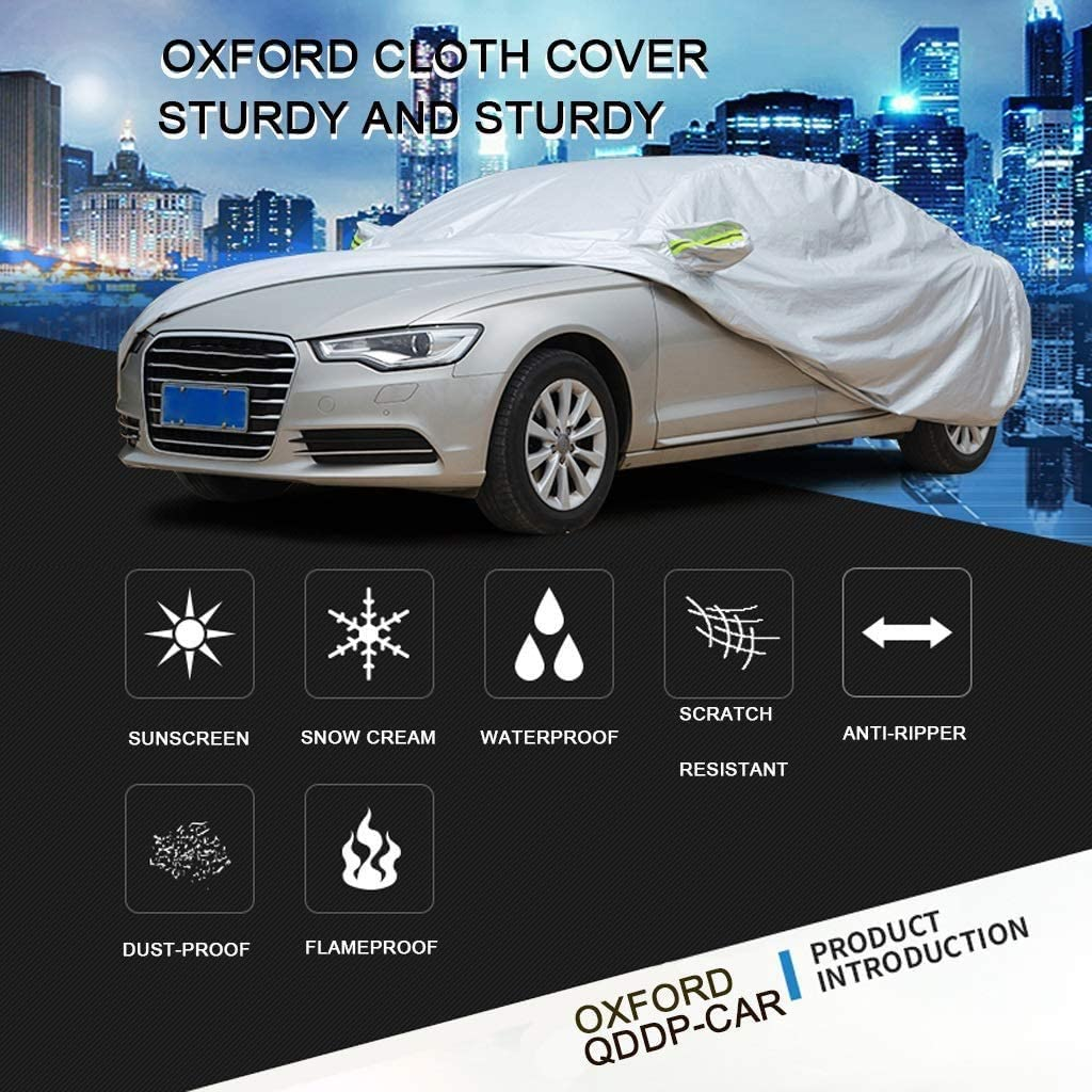 Car Cover Car cover Compatible With BMW X6 M Car Cover Cover Car Cloth Protective Car Cove Dustproof Car Cover Full Exterior Covers Outer Cover Color : Silver