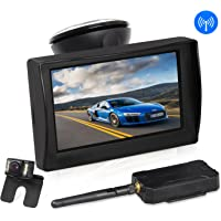 AUTO-VOX W1 Wireless Backup Camera Kit with LED Super Night Vision for Vehicles