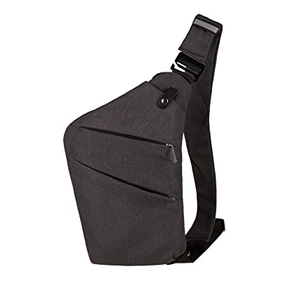 Sling Backpack Shoulder Chest Crossbody Bag, Lightweight Water Resistant Multipurpose Anti-Theft Pack Up to 7.9 Inch Tablet for Men Women low-cost