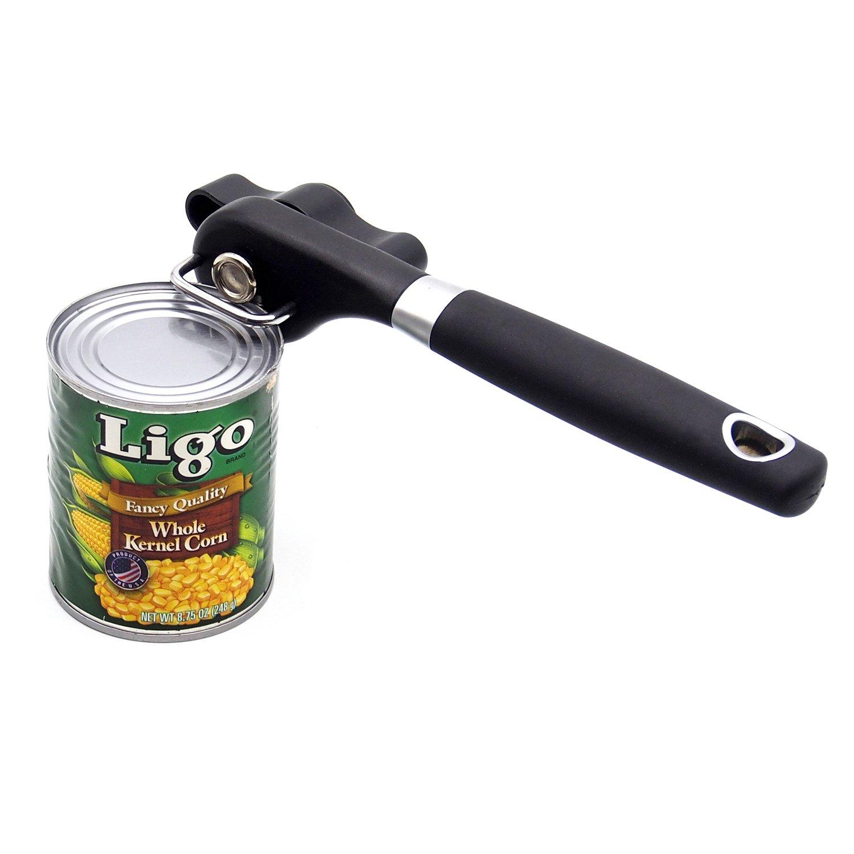TFENG Abridor de latas de Seguridad, mecánico Profesional, diseño Antideslizante ergonómico con Mango de Agarre Suave TFENG Inc.