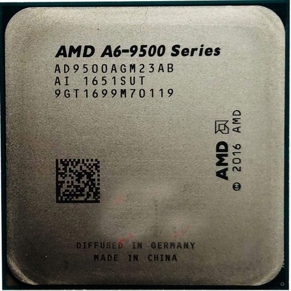 AMD A6-Series A6-9500 A6 9500 A6 9500B 3.5 GHz Dual-Core CPU Processor AD9500AGM23AB// AD950BAGM23AB Socket AM4