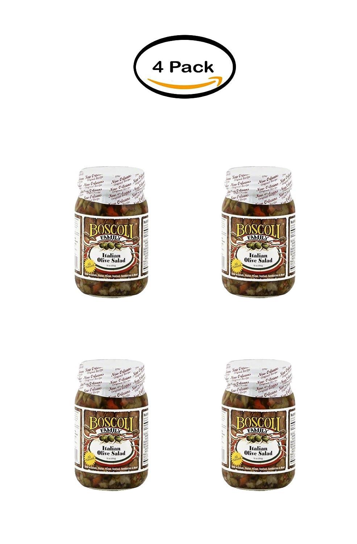 Amazon Com Pack Of 4 Boscoli Family Italian Olive Salad