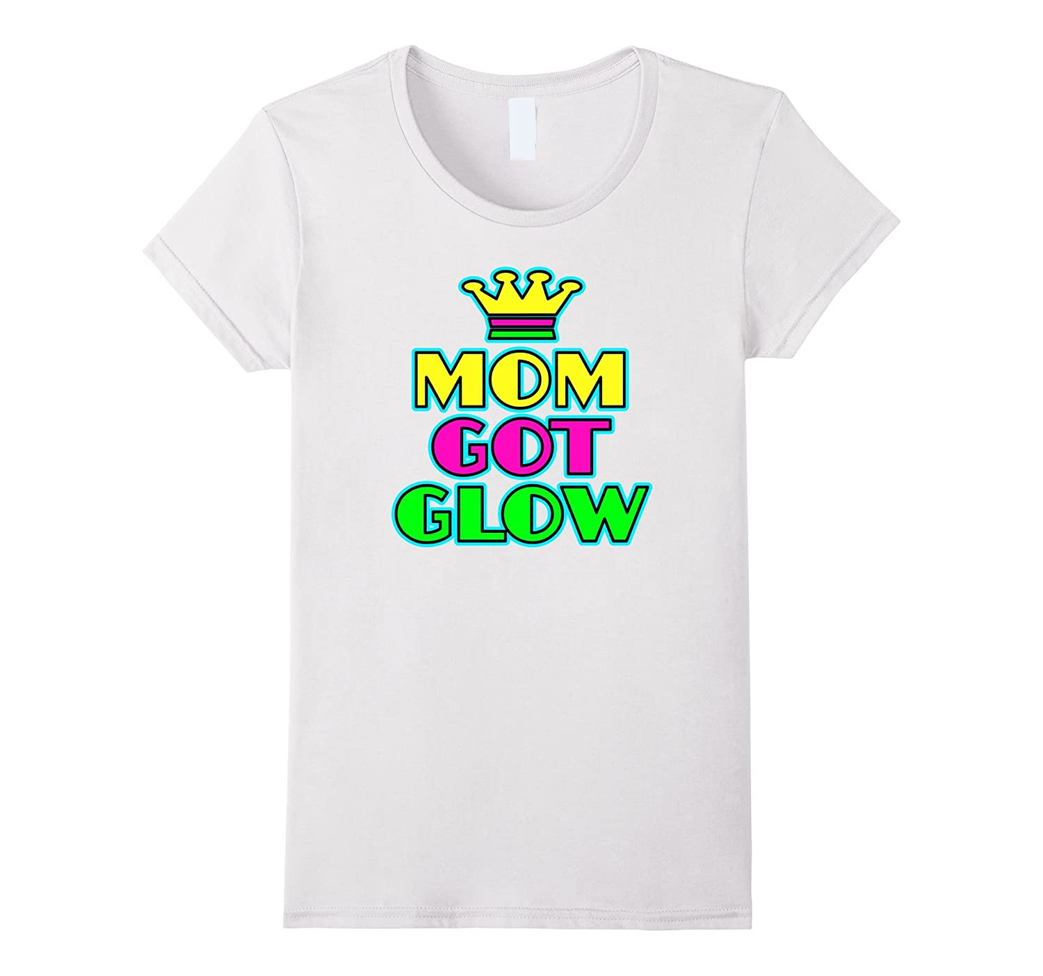 Womens Glow Party Birthday Shirt-Awarplus