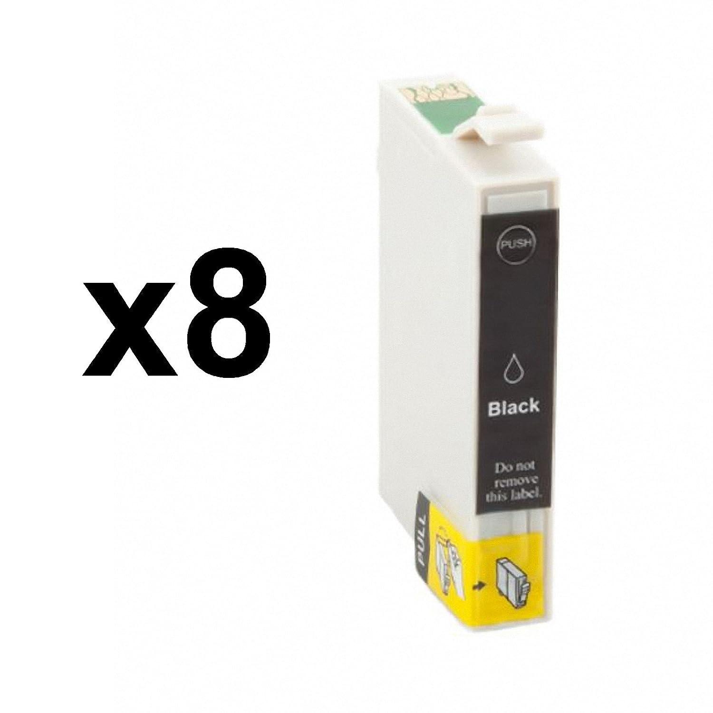 GREENPRINTER. 8 X CARTUCHOS DE TINTA COMPATIBLE NON OEM EPSON ...