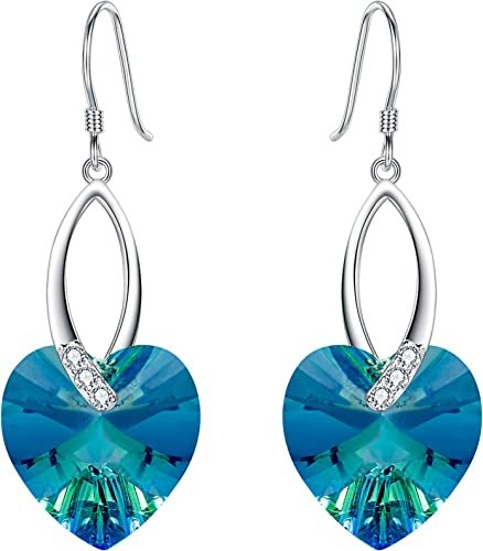 Dangle Engagement Handmade Color Change Diaspore  Earring Drop Earrings Gift for your Love for Her, Solid Sterling Silver 925K