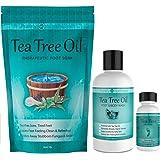 Purely Northwest Foot and Toenail Kit with 16 oz Tea Tree Oil Foot Soak, 9 fl oz Antifungal Tea Tree Oil Foot & Body Wash and 1 fl oz Tea Tree Nail Blend.